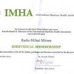 Certificat IMHA
