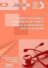 Îngrijiri prenatale de rutină în sarcina cu risc scăzut