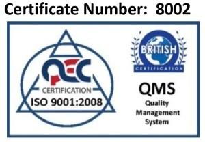 Certificat ISO 9001 Medo Brasov