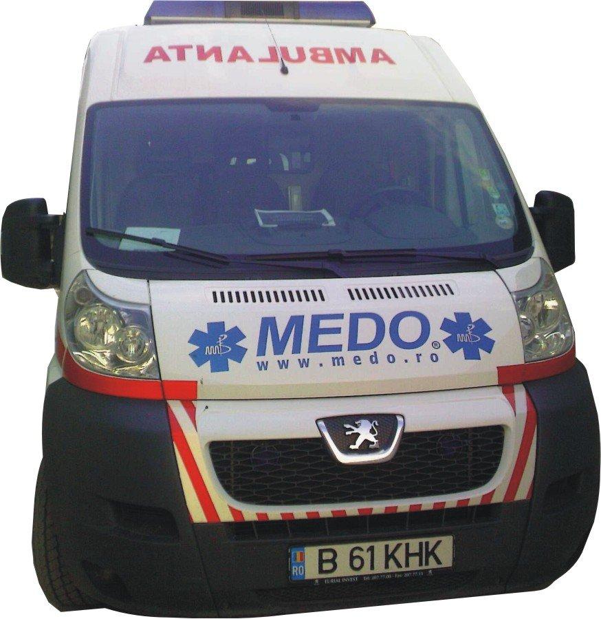 Transport medicalizat cu ambulantele MEDO